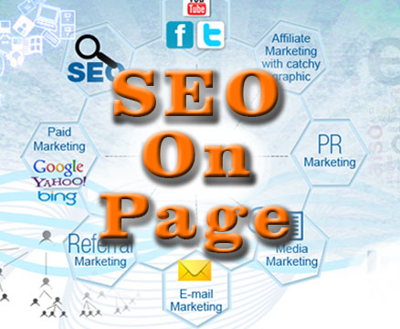 setting seo on page website