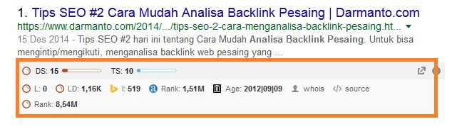 cara analisa backlink pesaing