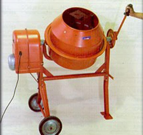 Laboratory Concrete Mixer